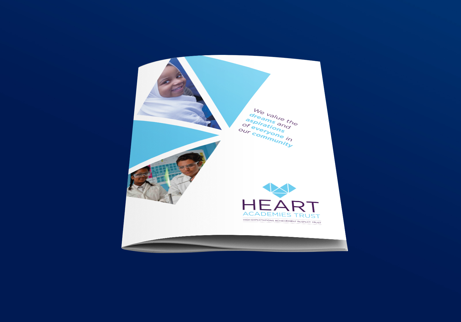 Website and print for Heart Academies Trust