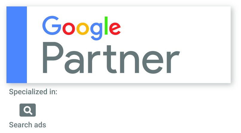 We are Google Partners!