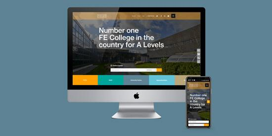 Nelson & Colne College Website Relaunch