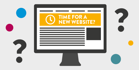 When is it time for a new website?