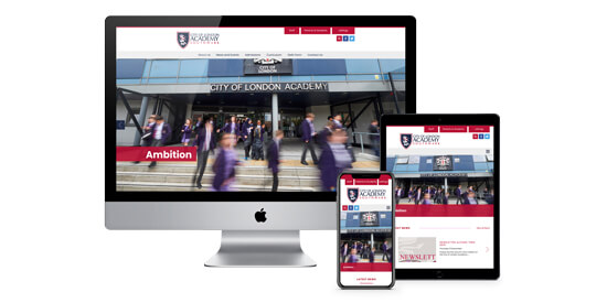 Latest website for City of London Academies Trust Goes Live