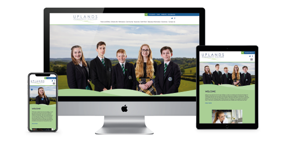 A school website with a difference