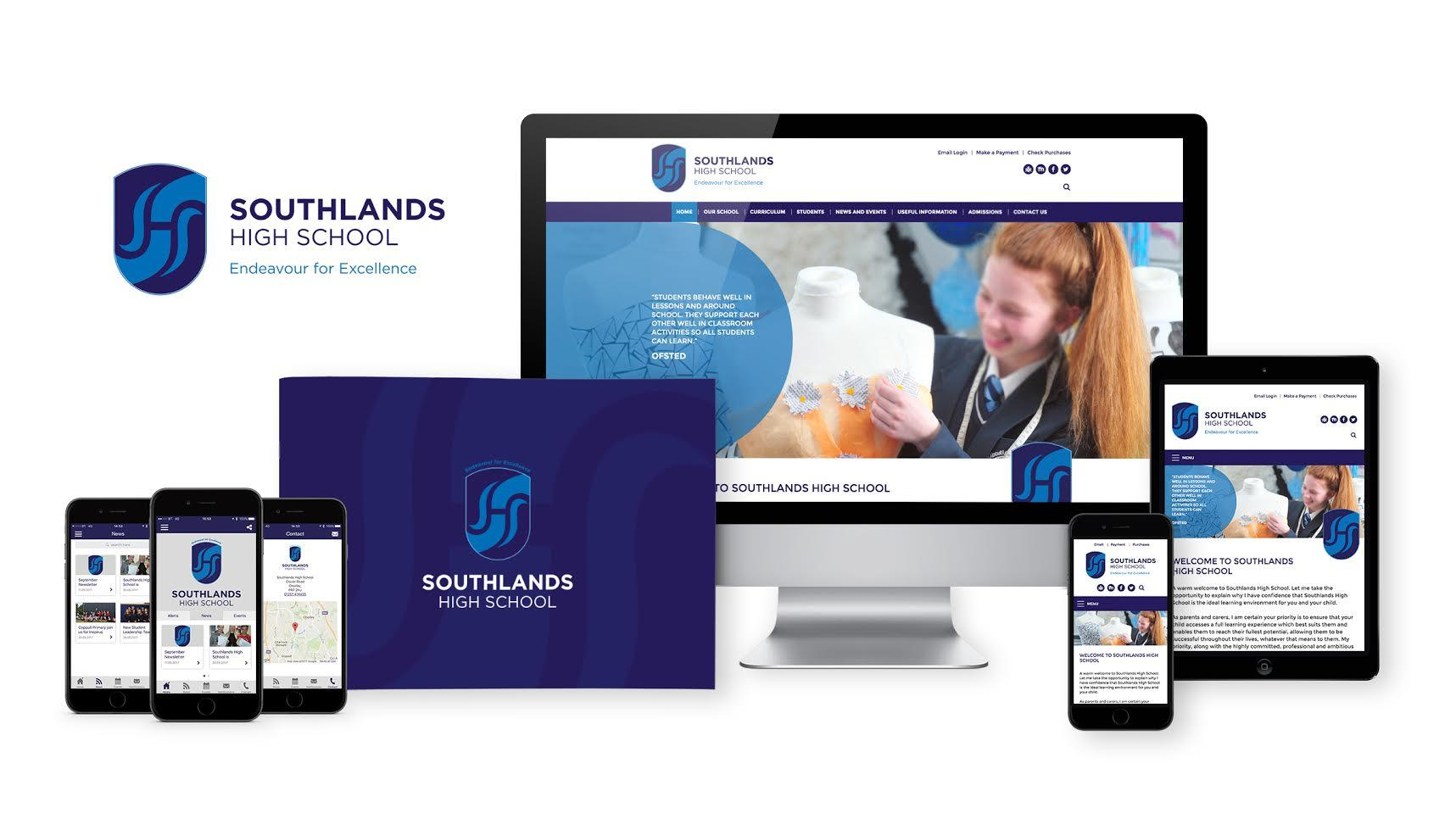 Premium school marketing package for Southlands School
