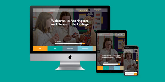 Nelson & Colne College Group latest website launch