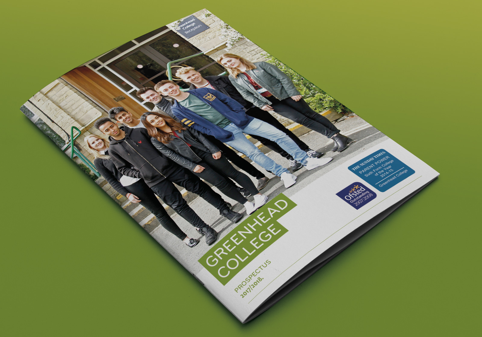 Prospectus and Website for UK renowned Greenhead College